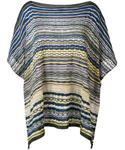 Missoni | Striped Poncho