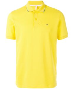Sun 68 | Contrast Logo Polo Shirt