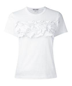 COMME DES GARCONS COMME DES GARCONS   Comme Des Garçons Comme Des Garçons Ruffled T-Shirt