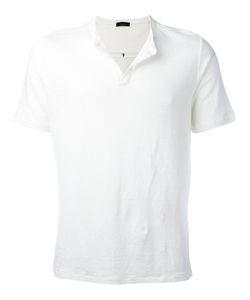 Roberto Collina   Open Neck T-Shirt Size 50