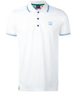 Paul & Shark | Logo Embroidered Polo Shirt Size Xl
