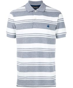 Brooks Brothers | Striped Polo Shirt Medium Cotton