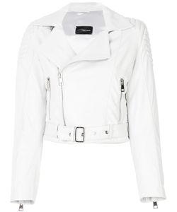 Manokhi | Cropped Leather Jacket