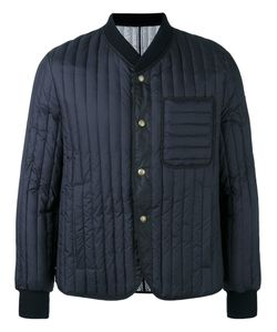 Moncler Gamme Bleu | Ribbed Bomber Jacket Cotton/Feather