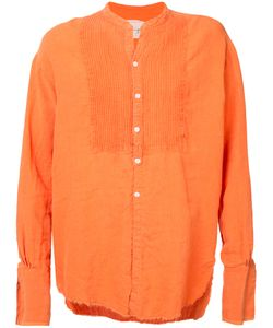GREG LAUREN | Oversized Frayed Shirt