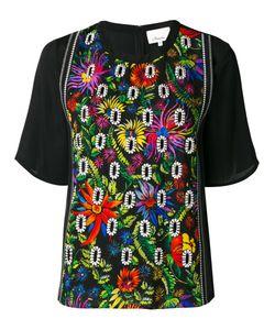 3.1 Phillip Lim | Блузка С Цветочной Вышивкой