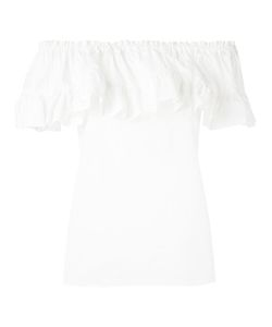 Hache | Ruffled Blouse Size 42