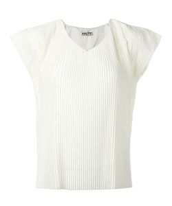 AALTO | Pleated V-Neck Top 36