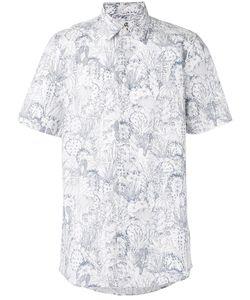 Paul By Paul Smith   Рубашка С Короткими Рукавами И Узором