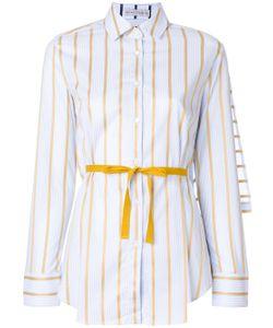 Рубашка В Синюю Полоску