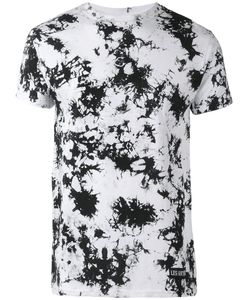 LES ARTISTS | Les Artists Number Splatter Print T-Shirt Large