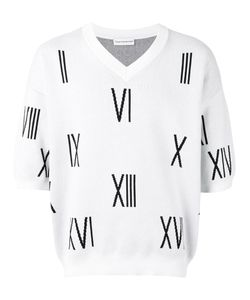 GOSHA RUBCHINSKIY | Numbers Knitted Top Size Large