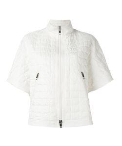 Ermanno Scervino | Short Sleeve Quilted Jacket 42 Polyester/Polyamide