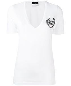 Dsquared2 | Caten Twins V-Neck T-Shirt Size Xs