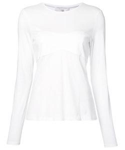 Tibi   Panel Detail T-Shirt Small