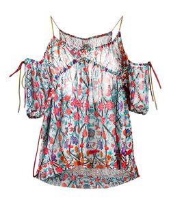 Miahatami   Блузка С Открытыми Плечами И Цветочным Узором