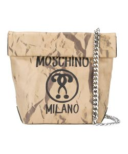 Moschino | Question Mark Print Shoulder Bag Calf