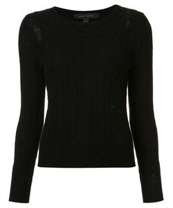 Marc Jacobs | Holey Cable Knit Top Large Cashmere