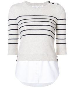 Veronica Beard | Striped Sweatshirt