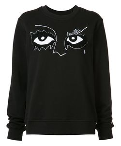 HACULLA | Eye Embroidered Sweatshirt Size Medium