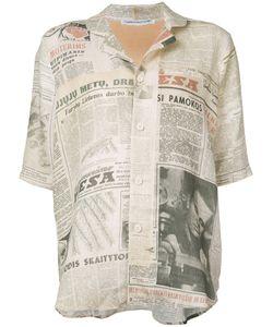 CHEREVICHKIOTVICHKI | Newspaper Print Shirt