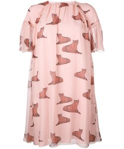 GIAMBA   Leopard Print Dress 42