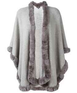N.PEAL   Furry Trim Cardi-Coat