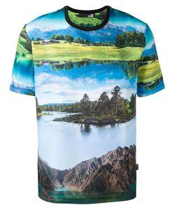 Love Moschino | Landscape Print T-Shirt