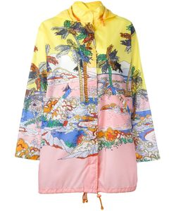 Emilio Pucci | River Print Hooded Jacket 40 Polyester