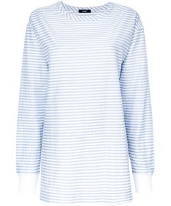 Bassike | Striped Sweatshirt Size 6