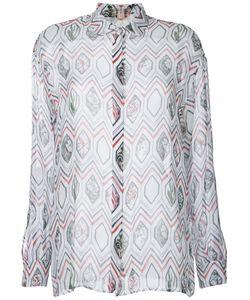 Giambattista Valli | Рубашка С Геометрическим Рисунком