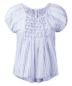 Bellerose | Striped Cap Sleeve Blouse