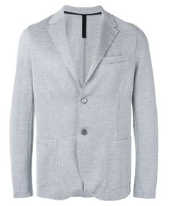 Harris Wharf London | Two Button Blazer 48 Cotton/Linen/Flax