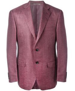 Canali | Flap Pocket Blazer 58 Silk/Linen/Flax/Wool/Cupro
