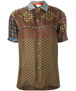PIERRE-LOUIS MASCIA | Geometric Print Shirt Medium