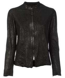 SALVATORE SANTORO   Panelled Zipped Jacket Size 44