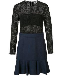 Veronica Beard | Long Sleeve Crochet Dress Size 8