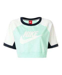 Nike | Укороченный Топ Дизайна Колор-Блок