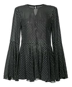 ROSETTA GETTY   Point Desprit Blouse 0 Silk/Viscose/Polyester