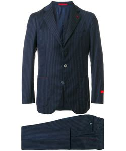 Isaia | Pinstripe Suit Men 50