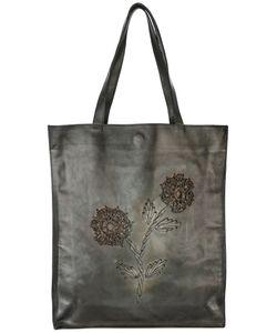 Numero 10 | Appliqué Flower Tote Bag