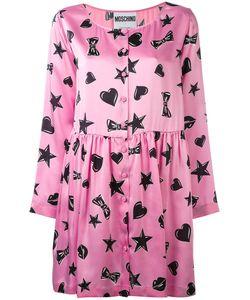 Moschino | Платье С Принтом Сердец