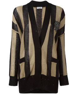 Brunello Cucinelli   Striped Cardigan Medium