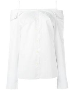 Tibi   Off Shoulders Shirt 2 Cotton