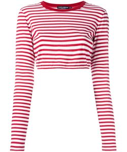 Dolce & Gabbana | Striped Cropped Top 40 Cotton