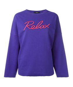 Diesel | Relax Sweatshirt Large Cotton/Polyester/Spandex/Elastane