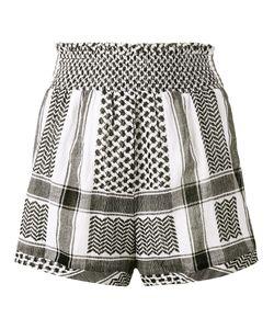 CECILIE COPENHAGEN | Keffiyeh High Waisted Shorts