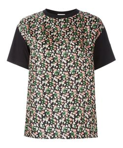 Moncler | Print Front Panel T-Shirt Xl Silk/Cotton
