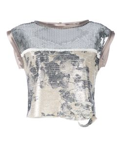 Aviù | Sequin Crop Top Size 42