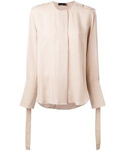 Calvin Klein Collection | Strap Detail Blouse